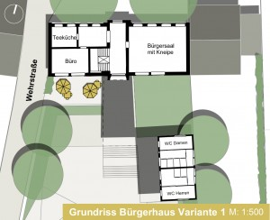 STB 1.2.1-Bürgerhaus Variante 1 EG