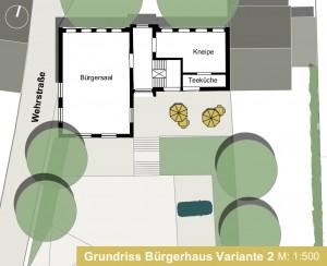 STB 1.2.2-Bürgerhaus Variante 2 EG